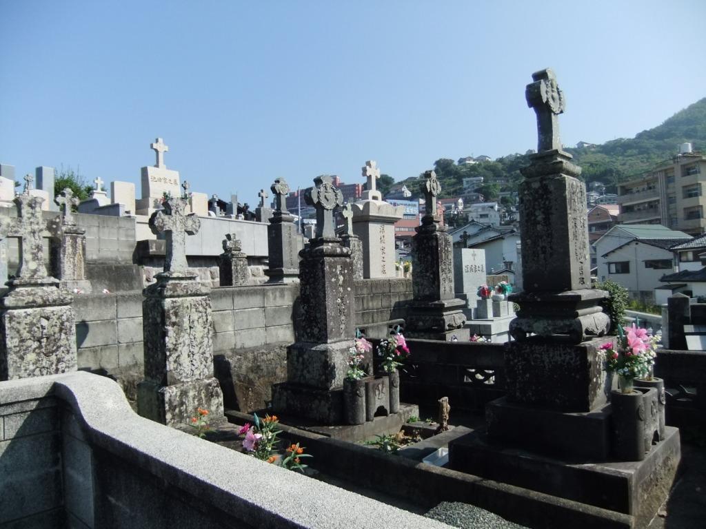 五島列島のお墓