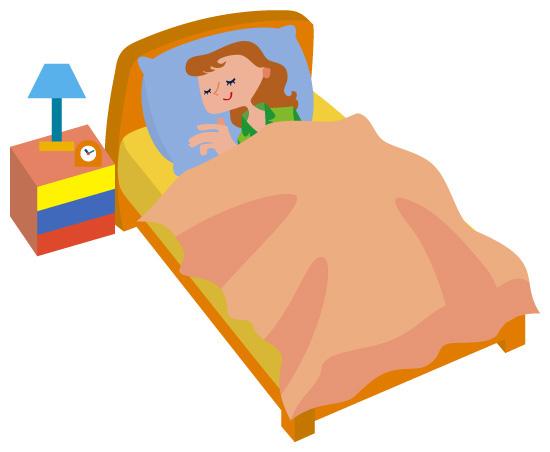 天然素材のベッドが快眠を招く