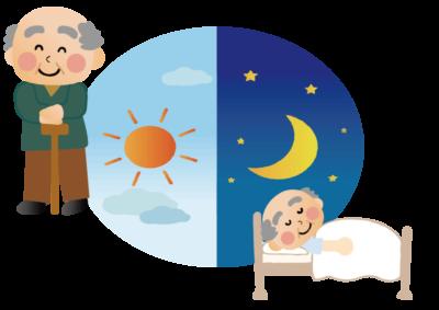日中の活動を増やして快眠